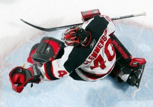 Clemmensen had one of the best pad, jersey and helmet aesthetic combos.