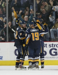 Tim Connolly and the Buffalo Sabres look to make a playoff run in 2009-10
