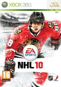 NHL10 Cover Featuring Patrick Kane of the Chicago Blackhawks