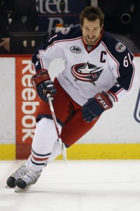 Could Rick Nash skate in a different city? Stay tuned.