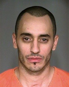 Dallas Stars' Mike Ribeiro's mug shot.