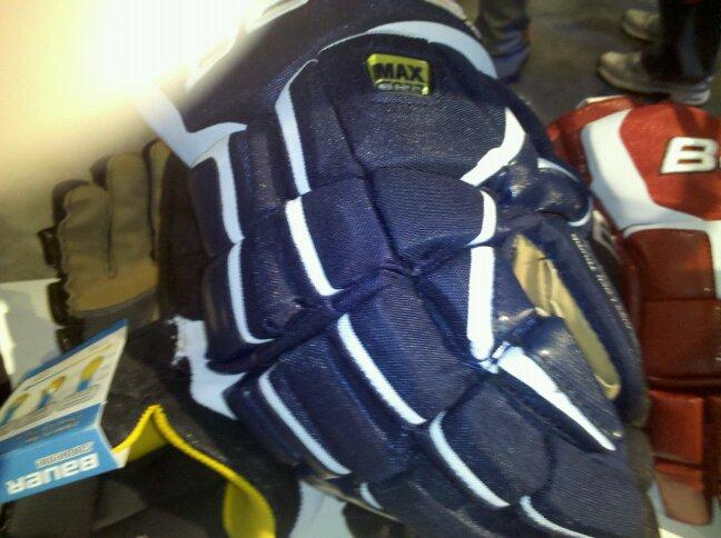 bauer total one stick. Bauer Total One Gloves