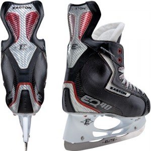 The Easton EQ40 is the second-highest skate in the Easton line, behind the EQ50.