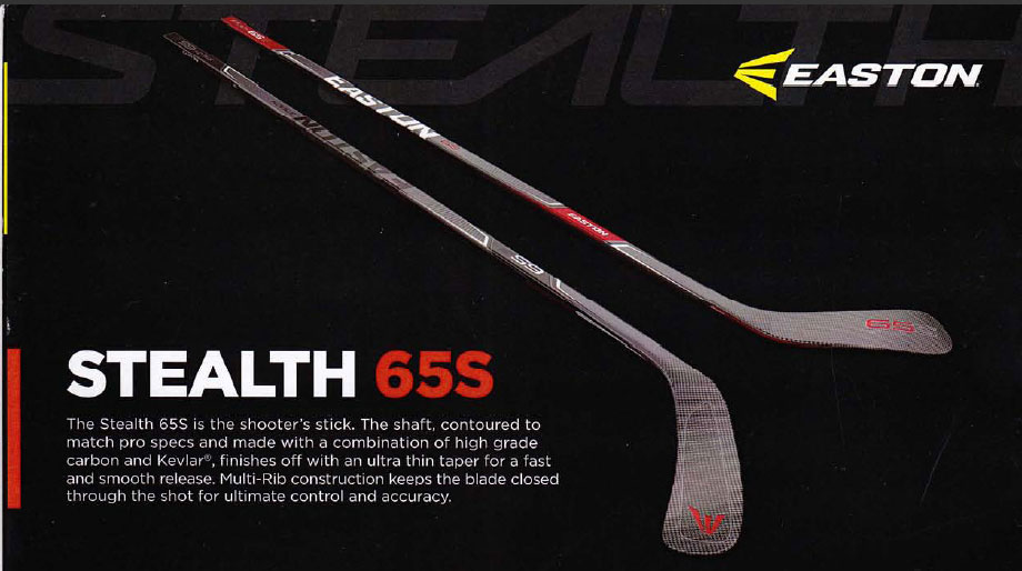 Easton Stealth 65s Hockey Stick Hockey World Blog
