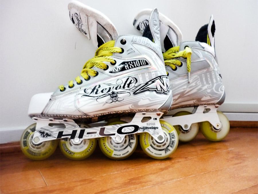 Mission axiom t10 revolt roller hockey skates