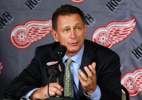 Red Wings GM Ken Holland