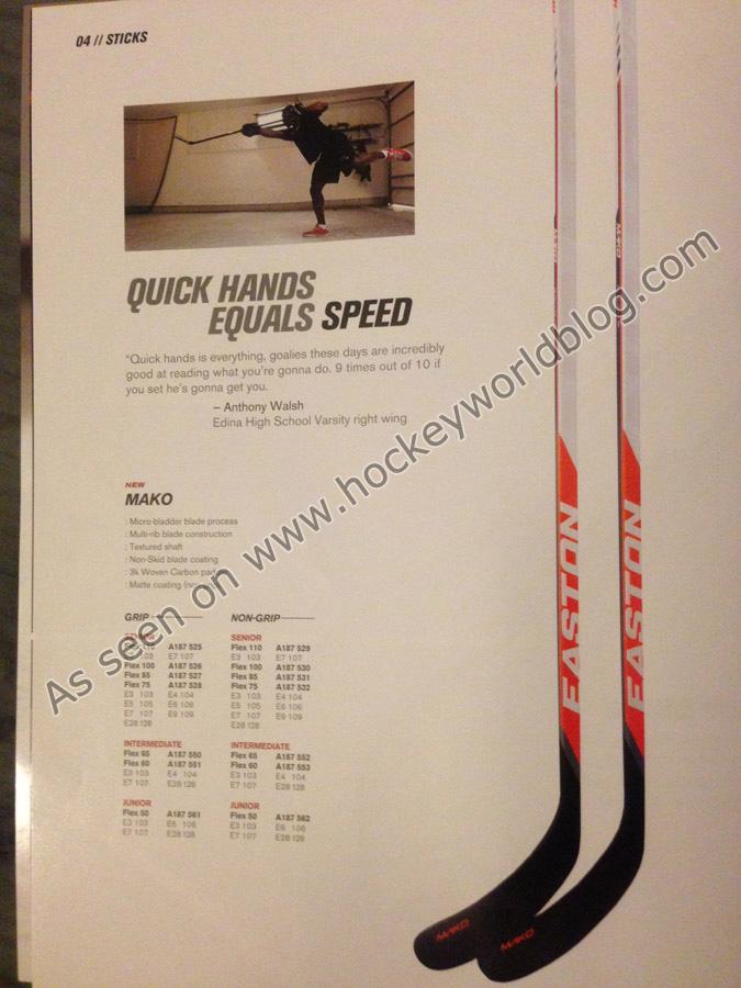 7f2dc264740 Easton Mako 2 Hockey Stick – Hockey World Blog