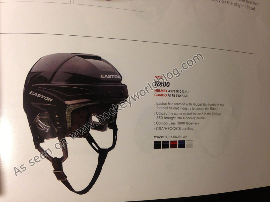 Easton R800 Helmet