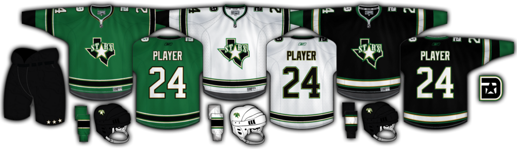 Dallas Stars Green Concept
