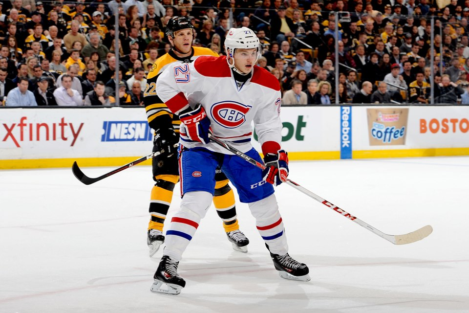 Galchenyuk using the CCM RBZ Stage 2 Stick