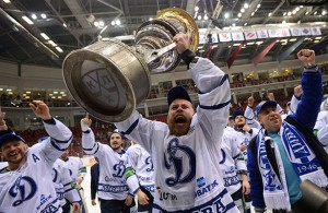 Dynamo Moscow wins the Gagarin Cup
