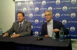 Steve Tambellini and Craig MacTavish