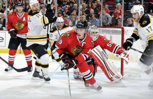 Chicago Blackhawks vs Boston Bruins