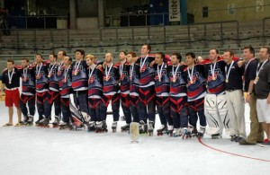2013 IIHF Inline Gold Medalists - Team USA