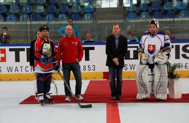 USA vs Slovakia 2013 IIHF Inline World Championships