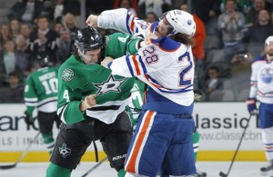Stars vs Oilers