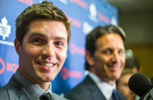 Toronto Maple Leafs Kyle Dubas and Brendan Shanahan
