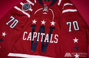 Washington Capitals Winter Classic Jersey