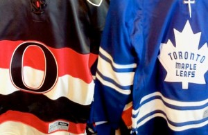 Toronto Maple Leafs and Ottawa Senators