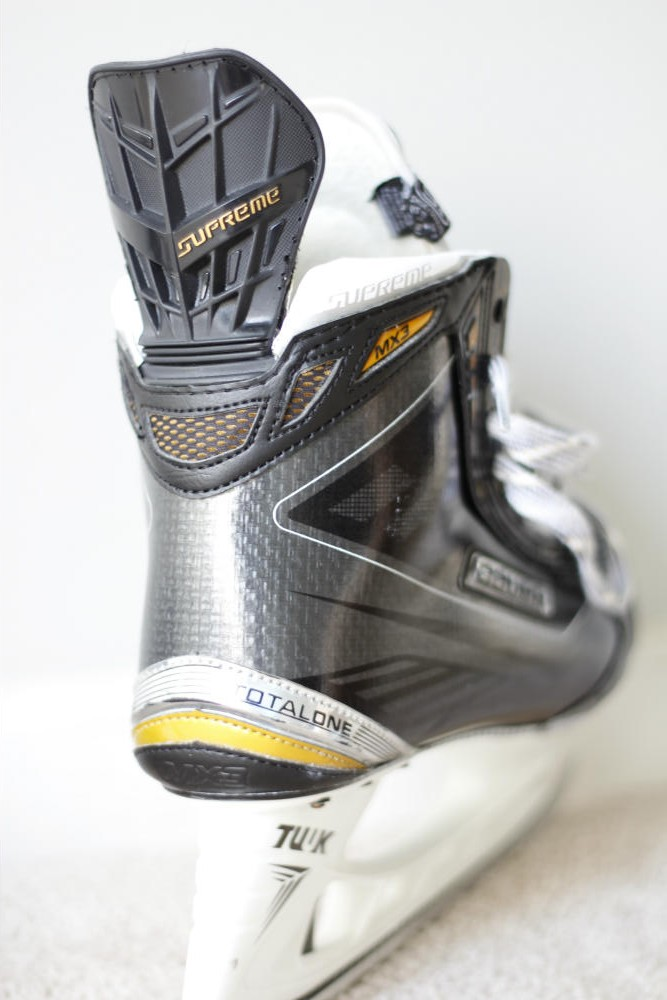 Bauer Supreme Total One MX3 Skates Back – Hockey World Blog