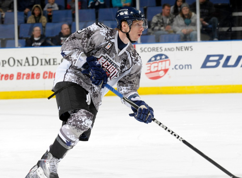 Ontario Reign Camo Jerseys and Socks