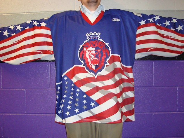 Reading Royals Veterans Day Jersey
