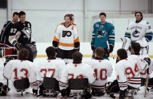 Gatorade NHL Stars Sledge Hockey