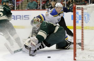 AP BLUES WILD HOCKEY S HKN USA MN