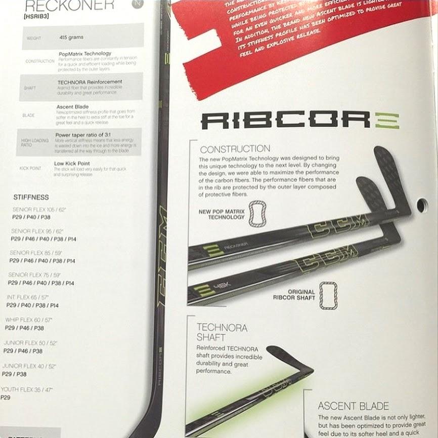 CCM Ribcor Reckoner Stick