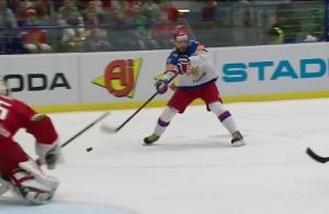 Ilya Kovalchuk No Look Goal