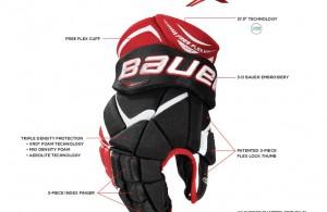Bauer Vapor 1X Gloves