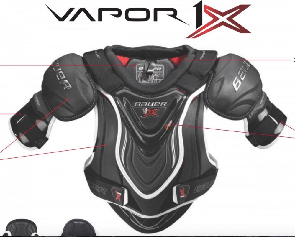 szybka dostawa najlepszy wybór delikatne kolory Bauer Vapor 1X Shoulder Pads – Hockey World Blog