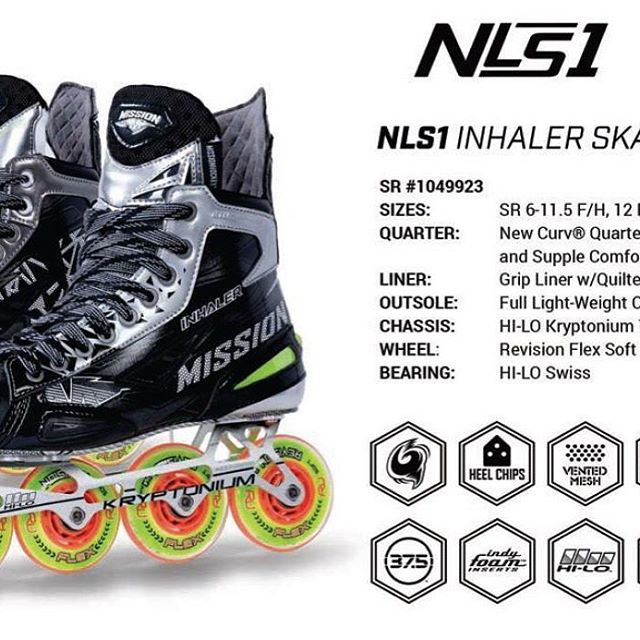 Mission Inhaler NLS Skates
