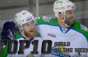 Top 10 KHL Goals Week 6