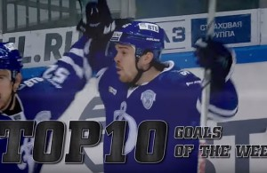 Top 10 KHL Goals Week 7 and 8