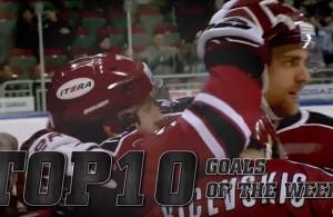 Top 10 KHL Goals Week 9