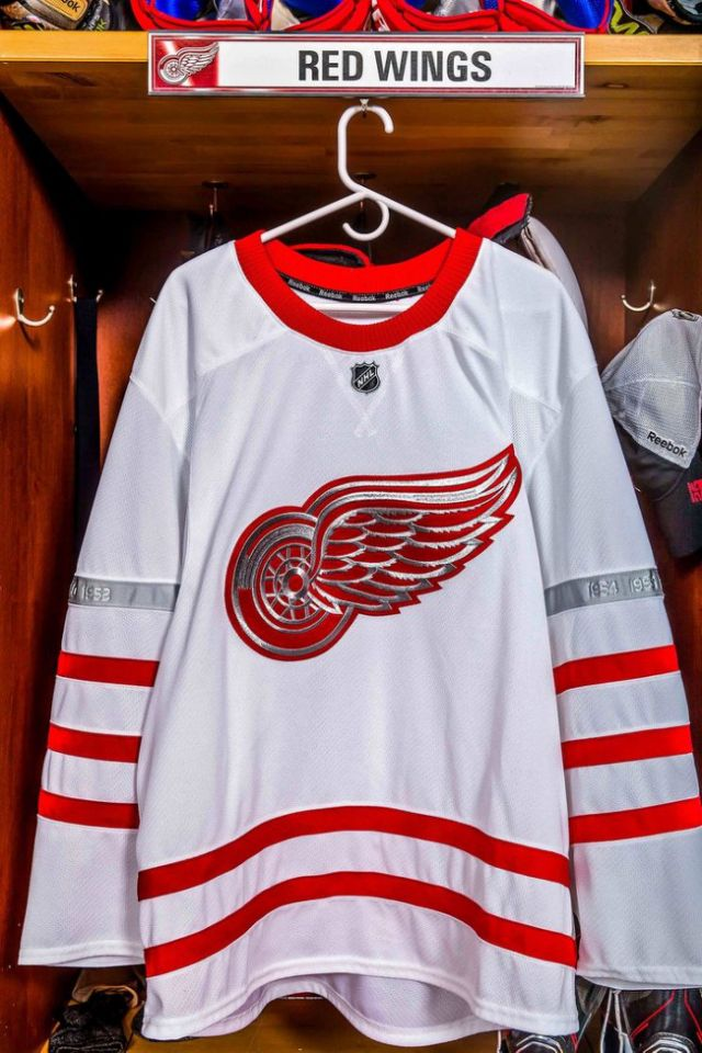 Detroit Red Wings Centennial Classic Jersey