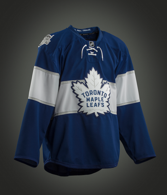 Toronto Maple Leafs Jersey History 120