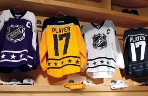 2017 NHL All Star Jerseys