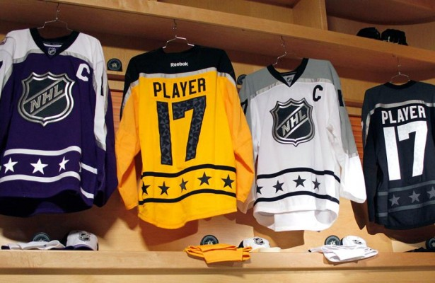 2017 NHL All Star Jerseys