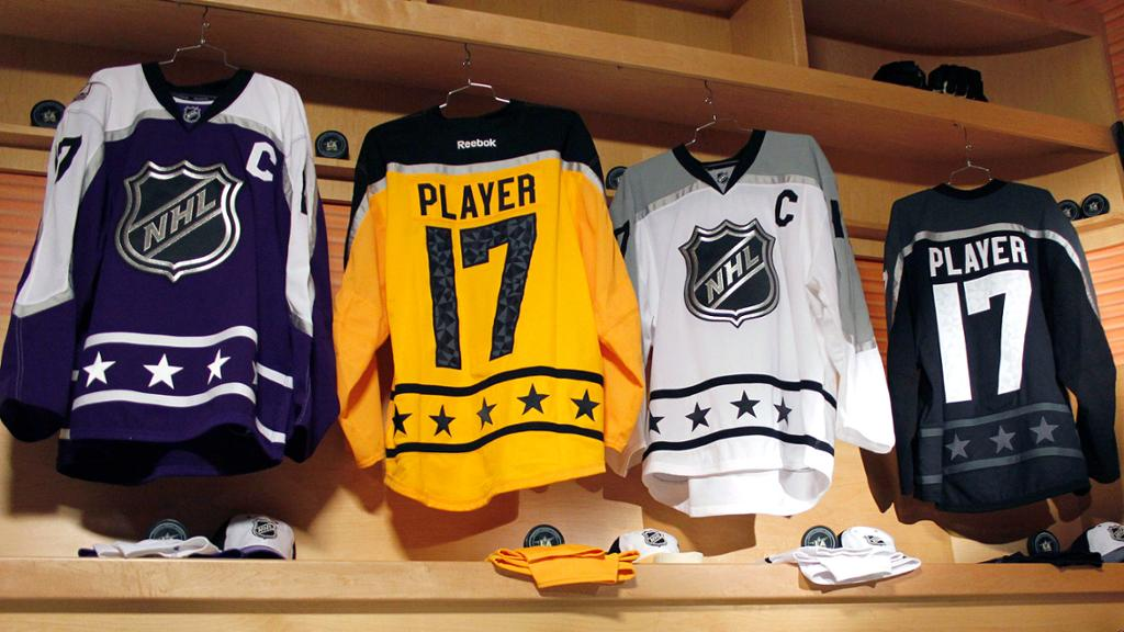 62cec2487 2017 NHL All Star Jerseys. Image  NHL