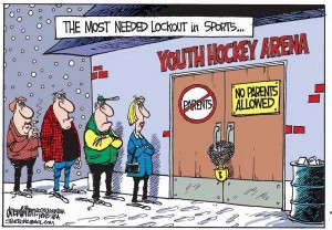 When parents make youth sports about themselves and not the children, this is what's needed.