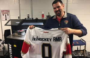 Florida Panthers Teddy Richards Ask Me Anything