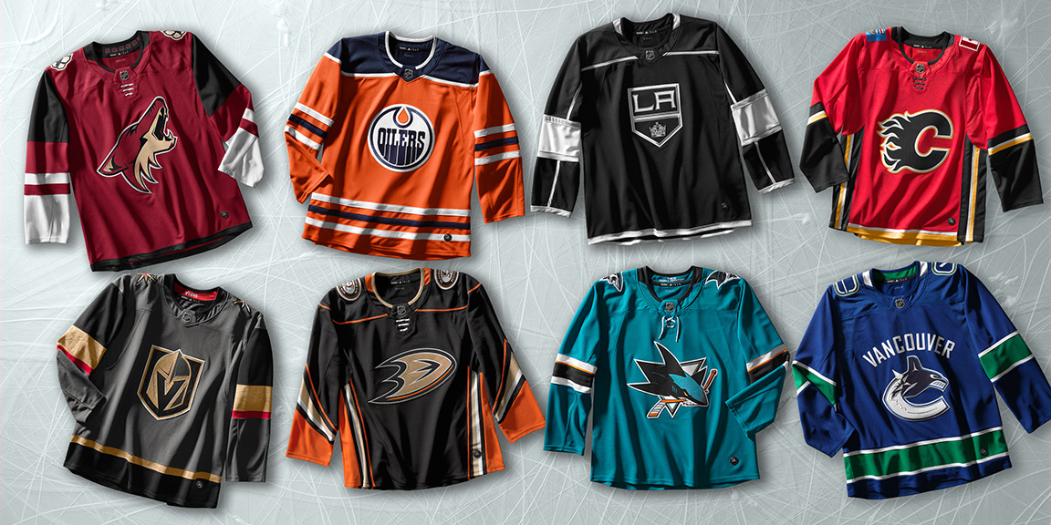 NHL and Adidas Announce Adidas Adizero Jersey Release Dates – Hockey ... 9c414d792e4
