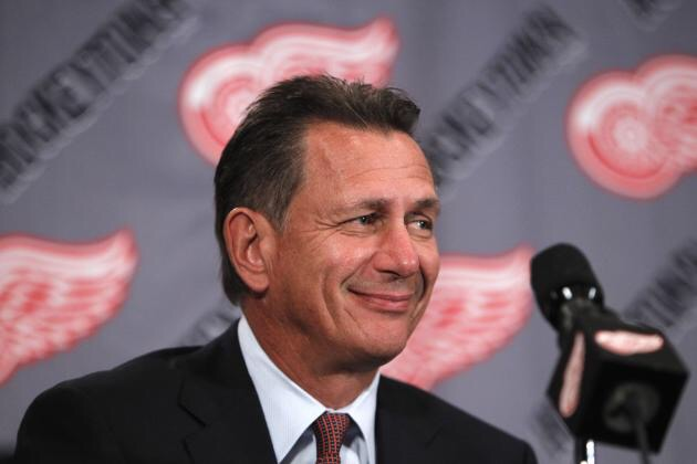 Ken Holland Detroit Red Wings