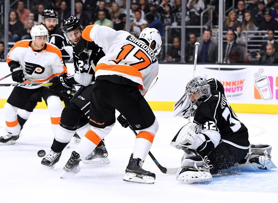 Wayne Simmonds Philadelphia Flyers