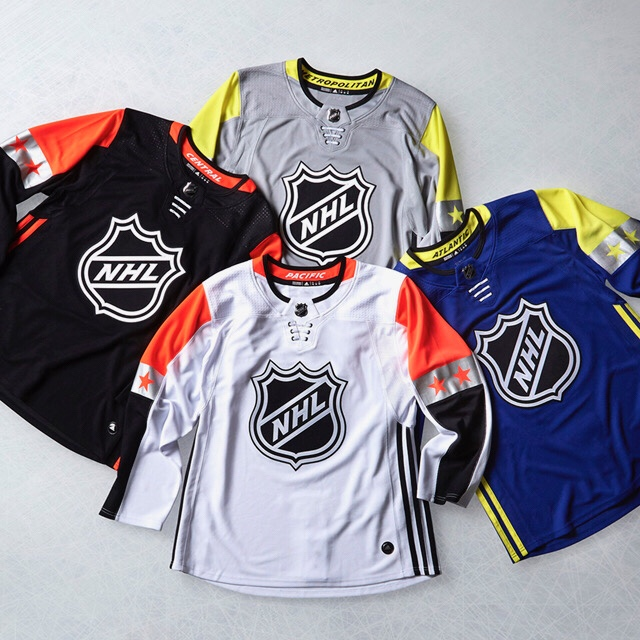 2018 NHL All-Star Jerseys
