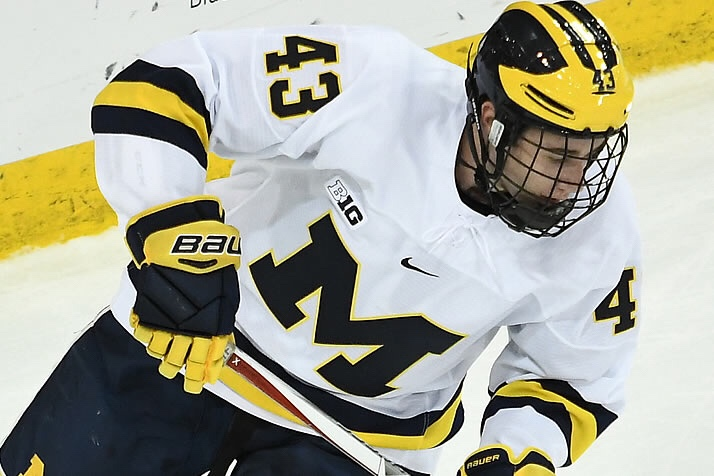 Michigan Wolverines Quinn Hughes