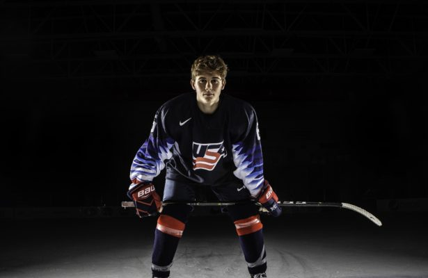 Jack Hughes USA Hockey