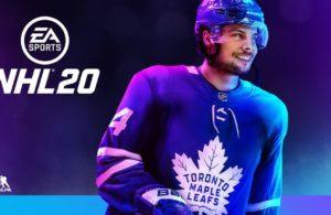 NHL 20 Cover Auston Matthews